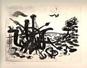 Paesaggio, 1965, 218x160
