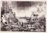 Si redime la terra, si fondano le città, 1939 - acquaforte su rame, 489 x 333